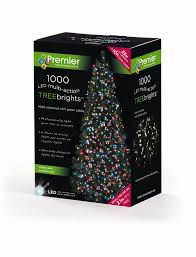 Christmas Tree Amazon Uk by Premier Treebrights 1000 Blue Led Christmas Tree Lights Amazon Co