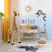 babyzimmer mit rattan bambus holzdeko einrichten
