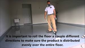 100 Solids Epoxy Floor Coating by How To Install Clear Coat 100 Solids Youtube