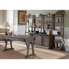 Rustic Office Furniture Unconvincing Liberty Stone Brook 2 Piece Home Suites In 6