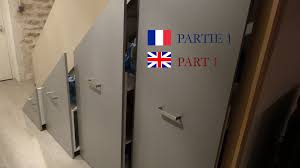 installer un placard coulissant sous escalier part 1 install a