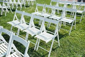 Rows Of White Folding Chairs On Lawn Before A Wedding Ceremony.. Trex Outdoor Fniture Cape Cod Classic White Folding Plastic Adirondack Chair Mandaue Foam Folding Wimbledon Wedding Chair View Swii Product Details From Foshan Co Ltd On Alibacom Vintage Chairs Sandusky Seat Metal Frame Safe Set Of 4 Padded Hot Item Fan Back Whosale Ding Heavy Duty Collapsible Lawn Black Lifetime 42804 Granite Pack Www Lwjjby Portable Chairhigh Leisure China Slat Pad Resin
