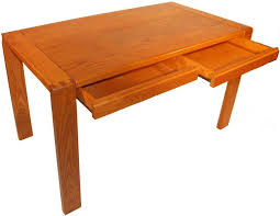 bureau contemporain bois massif bureau 2 tiroirs en bois massif style contemporain