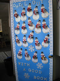 Classroom Door Christmas Decorations Ideas by Holiday Door Decorations For Classrooms And Creative But Simple
