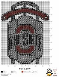 Ohio State Brutus Pumpkin Stencil by 676 Best Ohio State Images On Pinterest Charts Buckeyes And