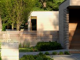 fence with flat roof exterior contemporary and contemporary deck tiles