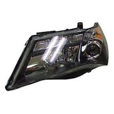 acura mdx 2007 2009 left driver side replacement headlight