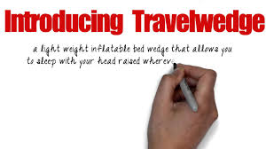 Inflatable Bed Wedge by Travelwedge Lightweight Inflatable Bed Wedge Acid Reflux Wedge