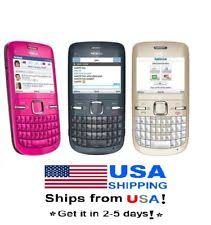USPS Nokia C3 00 T mobile 2MP Camera FM MP3 Player 2 4