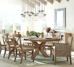 Pottery Barn Dining Room Furniture Extending Table Finish