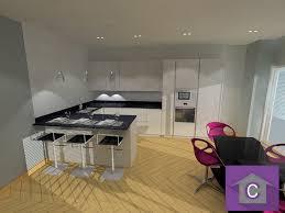 cuisine moderne en u attractive plan de cuisine moderne 2 cuisine lineaquattro en u