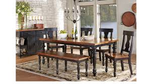 Sofia Vergara Black Dining Room Table by Hillside Cottage Black 5 Pc Dining Room Rectangle Traditional