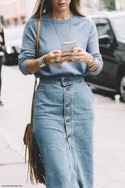 253 fashion denim skirt images denim