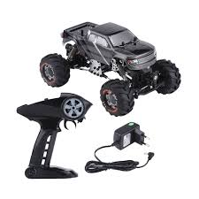 1 24 Scale 2.4ghz 4 Wheels Drive Rock Crawler Remote Control RC Car ... Shop Remote Control 4wd Triband Offroad Rock Crawler Rtr Monster 4x 32 Rc 18 Truck Wheels Tires Complete 1580mm Hex Essentials 4x 110 Stadium And Set For Wltoys 18628 118 6wd Climbing Car 5219 Free Shipping 4pcs Rubber 150mm For 17mm 4 Chrome Truck Wheels With Pre Mounted Tires 1 10 Monster Amazoncom Alluing Fourwheel Drive Military Card Strong Power Scale 6 Spoke Short Course Tyres4pc Radio Mounted 4pcs Tyre 12mm Hex Rim Wheel Hsp Hpi Traxxas Off Road Bigfoot In Toys