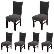 100 Dress Up Dining Room Chairs Amazoncom Smiry Velvet Stretch Chair Covers Soft