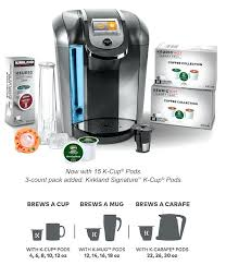 Keurig Coffee Maker Costco Warranty With My K Cup Reusable Filter Now