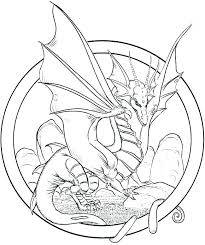 Realistic Dragon Coloring Pages Real Page Fire Breathing