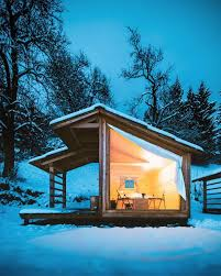 100 Glass Walled Houses Escape To Slovenia To Enjoy Mountainside Glamping In A