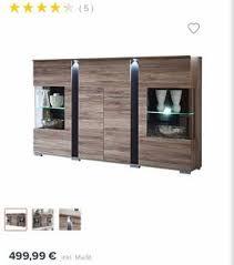 komplettes wohnzimmer set wohnwand vtrinenenschrank