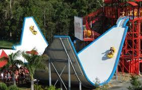 Custom Adult Fiberglass Water Slides Images