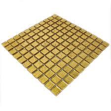 glasmosaik mosaik fliesen mosaikfliesen glas gold