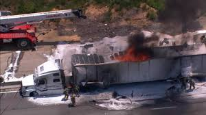 I-77 BLOCKED BY BURNING TRUCK: Lanes Reopen On I-77 In North ...