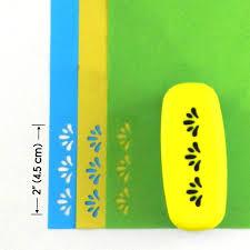 Border Punch Petal Pattern