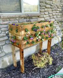 Planter Box And Pallet Po