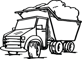 Free Printable Garbage Truck Coloring Pages Page Crayola Dump Full Size