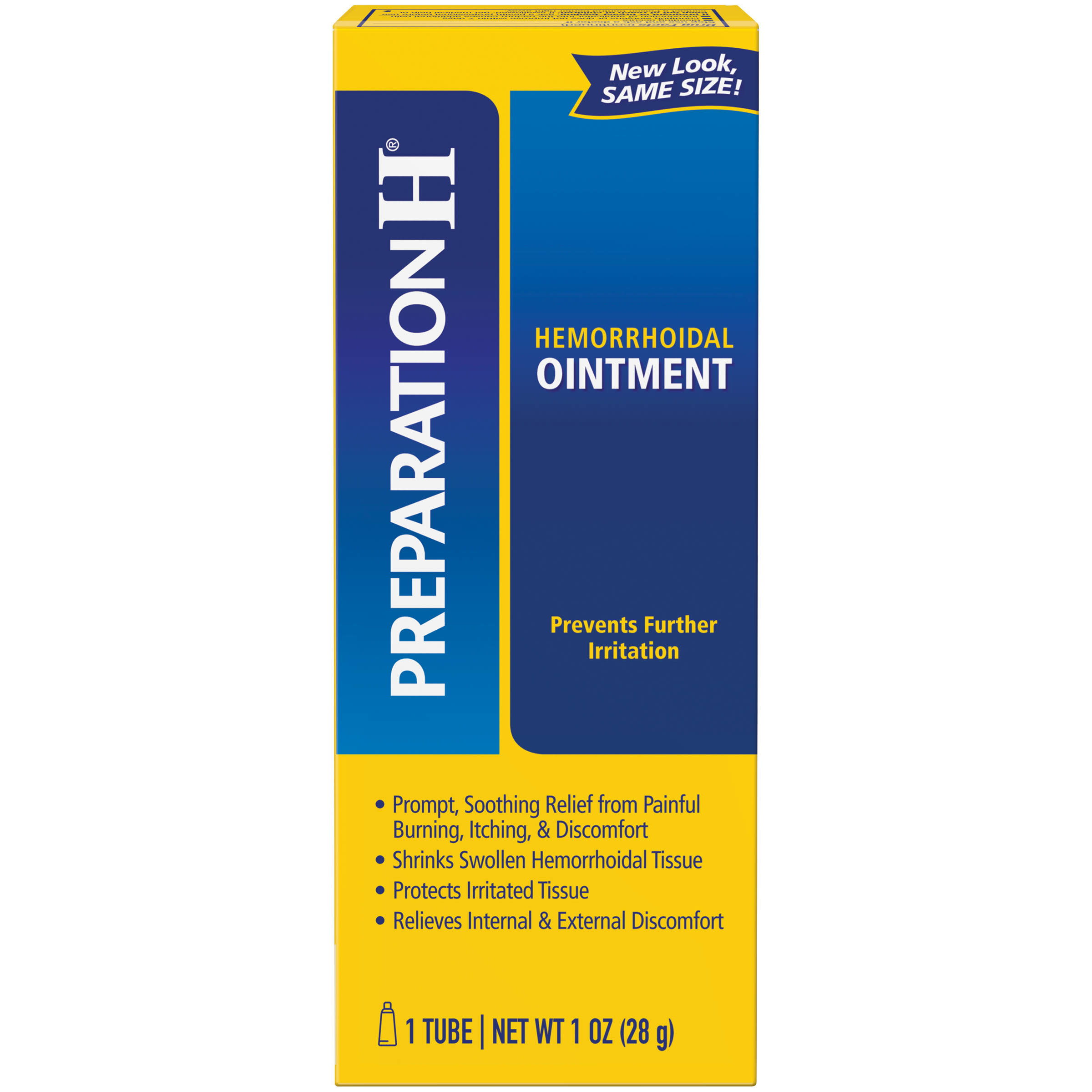 Preparation H Ointment, Hemorrhoidal - 1 tube, 1 oz