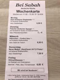 24 kw imbiss bei sabah feine deutsche küche