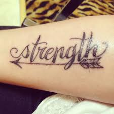 The 25 Best Ideas About Strength Tattoo Designs On Pinterest