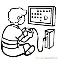 Games Coloring Pages