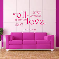 1 Corinthians 1614 Bible Verse Wall Decal