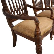 78% OFF - Bernhardt Bernhardt Embassy Row Cherry Carved Wood Dining Chairs  / Chairs Jet Set Ding Room Items Bernhardt Santa Bbara Includes Table And 4 Side Chairs By At Morris Home 78 Off Embassy Row Cherry Carved Wood Haven Chair Each 80 Gray Deco All Montebella 9 Piece Baers Design Couch Sale Interiors Keeley Of 2