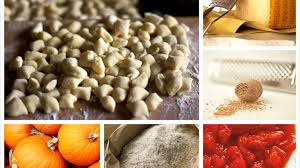 Pumpkin Gnocchi Recipe by Italian Recipes Pumpkin Gnocchi With Parmesan Eggnog And Smoked