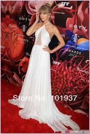 Evening Dresses Red Carpet by Taylor Swift 2013 Fragrance Foundation Awards Celebrity Dresses