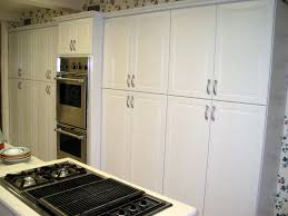 Thermofoil Cabinet Doors Replacements by Modern Style White Thermofoil Cabinet Doors With White Woodgrain