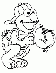 Elmo Coloring Pages To Print For Kids 90527