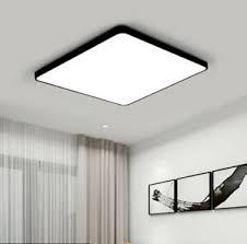 details zu 48w 50x50cm led decken leuchte deckenle modern wohnzimmer schlafzimmer le