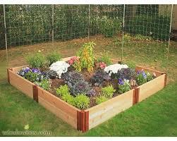Raised Garden Kits MinifarmBox Cedar Raised Garden Kits 36 4