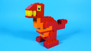 how to build lego dinosaur 4630 lego build u0026 play box building