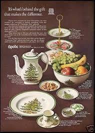 Spode Christmas Tree Mug Cafe Shape by Set Of 6 Spode