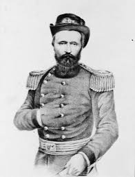 This Sketch Depicts Brigadier General Grant In His Dress Uniform