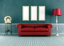 tips for the retro look in the living room interior design