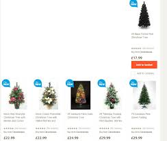 Fibre Optic Christmas Trees Uk by Uk Tesco Christmas Trees Highlight 2014 Seasonal Forum