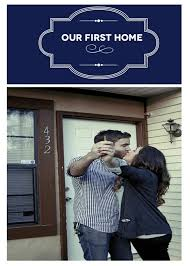 Something To Always Remember Your First Home Together Take A Picture Showing The House Number