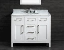 ove décor 42 w x 21 d white malibu vanity and carrara marble