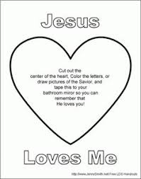 Extraordinary Inspiration Jesus Loves Me Printable Coloring Pages Sheet