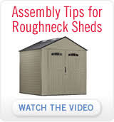Rubbermaid Garden Tool Shed by Roughneck Sheds Rubbermaid